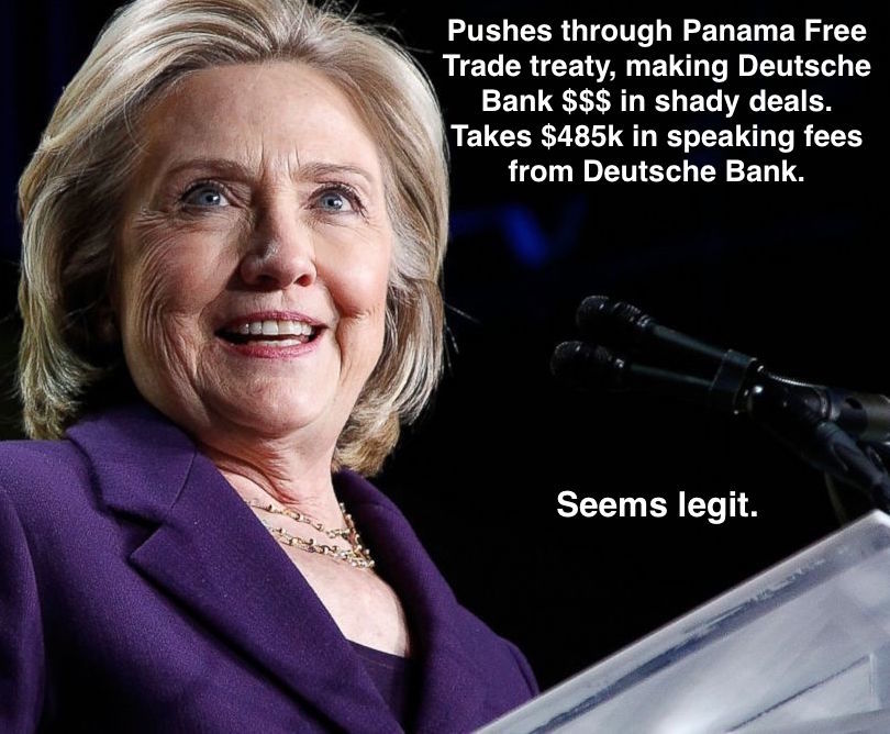 Panama Papers Hillary Connection To Deutsche Bank Armory Of The