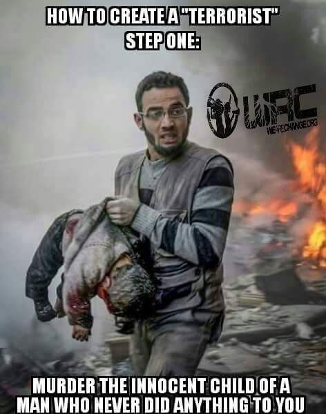 terrorist and child