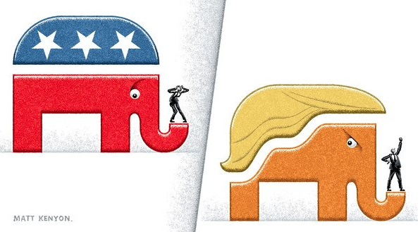trump elephant