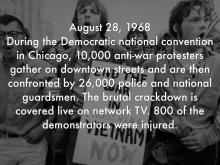 democratic convention 1968