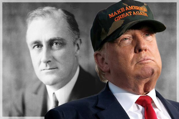 analyze the responses of franklin roosevelts Extracts from this document introduction policies to end the depression: hoover vs roosevelt by carina uehr t his campaign is more than a contest between two men.